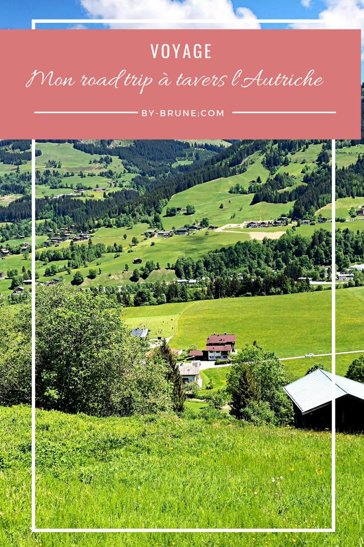 Je vous présente pour road trip à travers l'Autriche, en partant de Vienne pour arriver dans la région du Tyrol, en passant par Salzbourg.