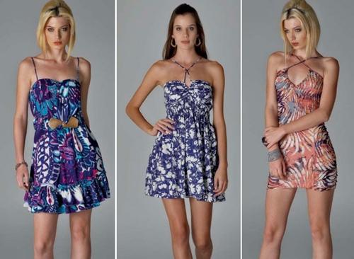 Vestidos primavera verão e vestidos tropicais regem o mercado de ponta a ponta, não importando o ano, sempre estará em alta