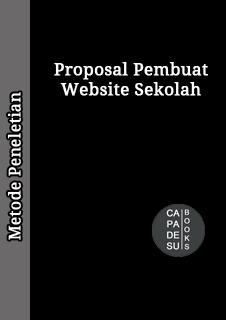 Proposal Skripsi Pembuatan Website Sekolah