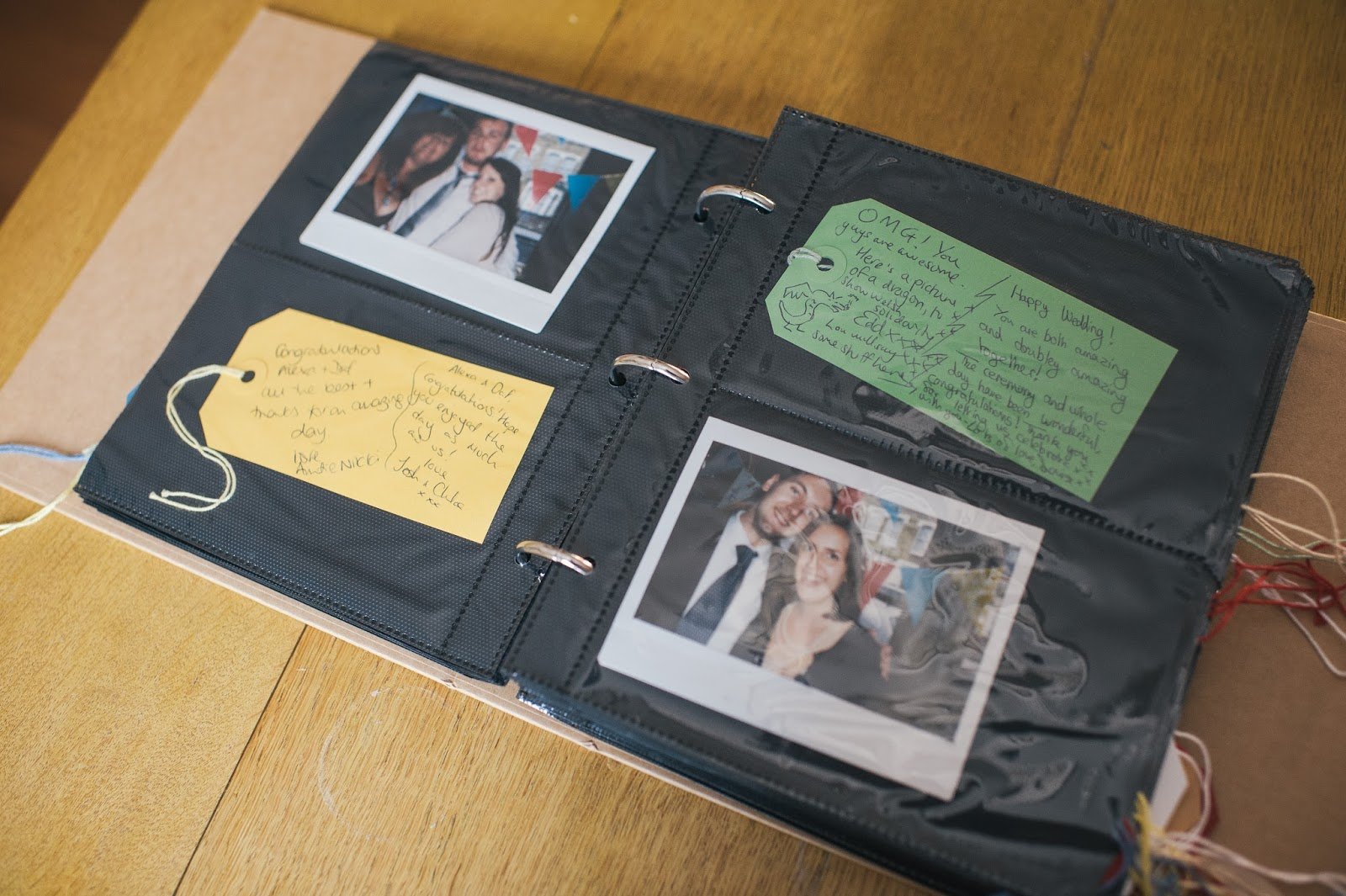 How To Make A Wedding Polaroid Guest Book
