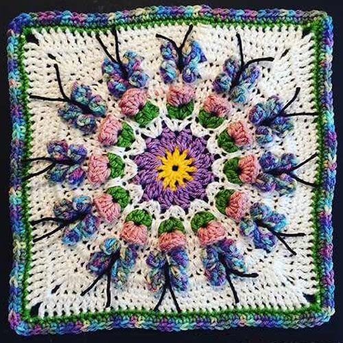 Butterfly Crochet Afghan Pattern ( VIDEO TUTORIAL)