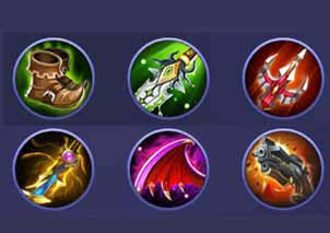 Build Chou Tersakit Mobile Legends terbaru donkey