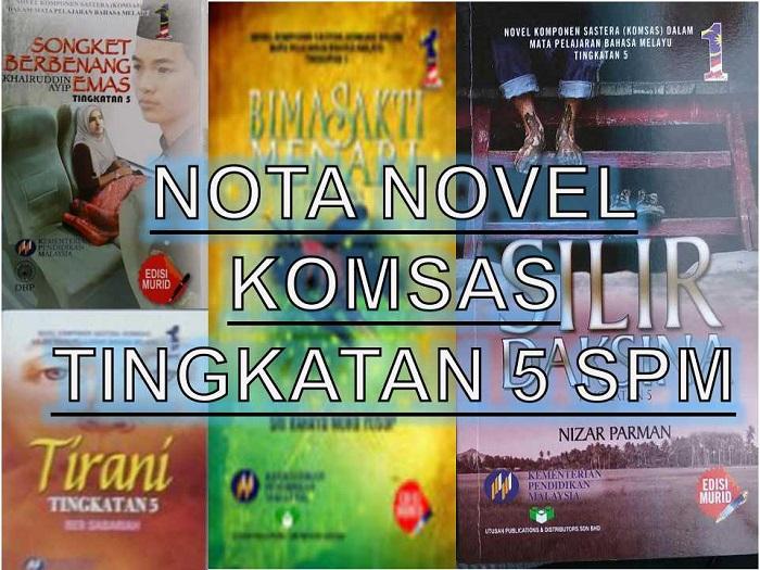 Download contoh soalan KOMSAS SPM Bahasa Melayu (BM) dalam format PDF