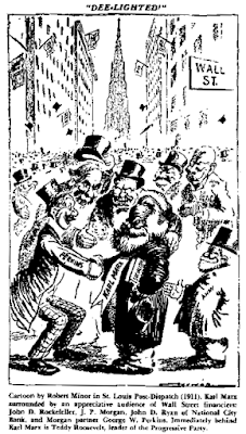 Cartoon by Robert Minor in St. Louis Post-Dispatch (1911)