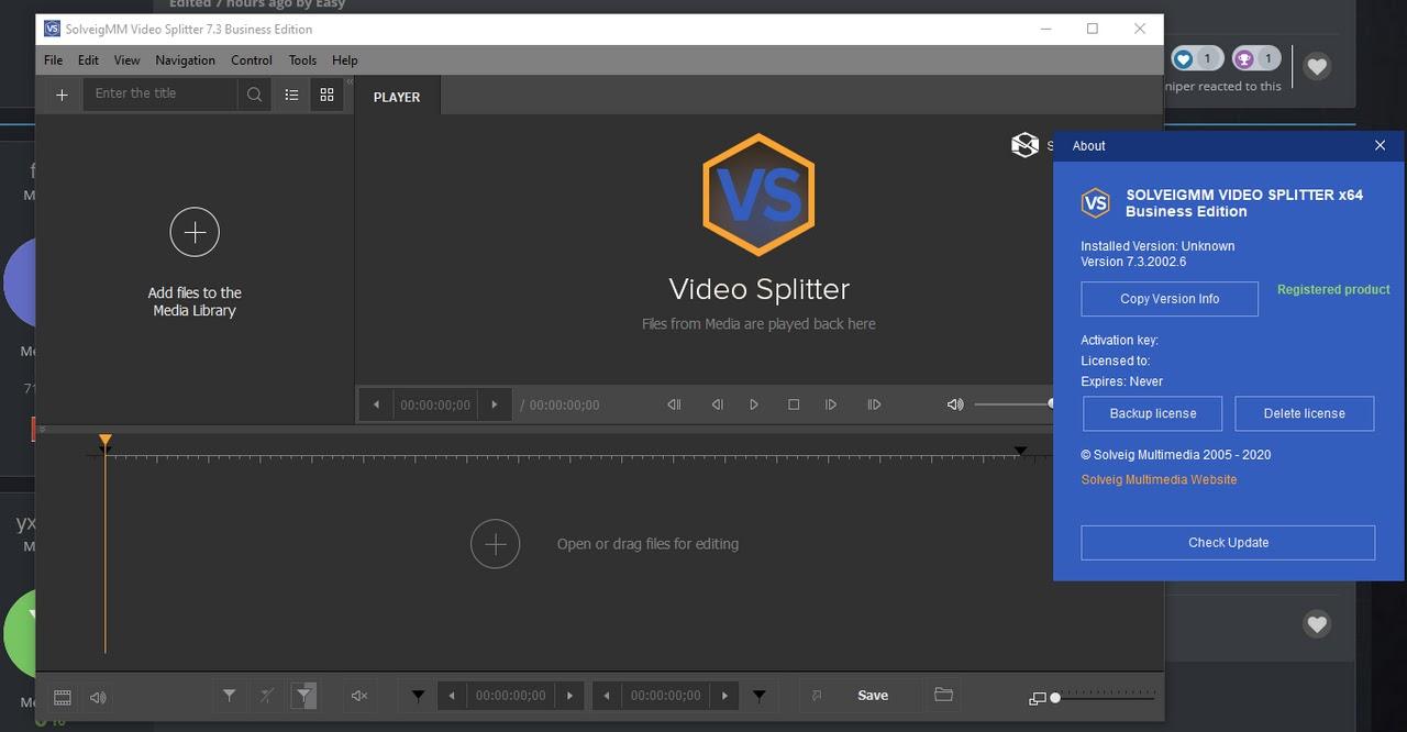تحميل برنامج SolveigMM Video Splitter 7.3 لتحرير الفيديو بسهولة مذهلة