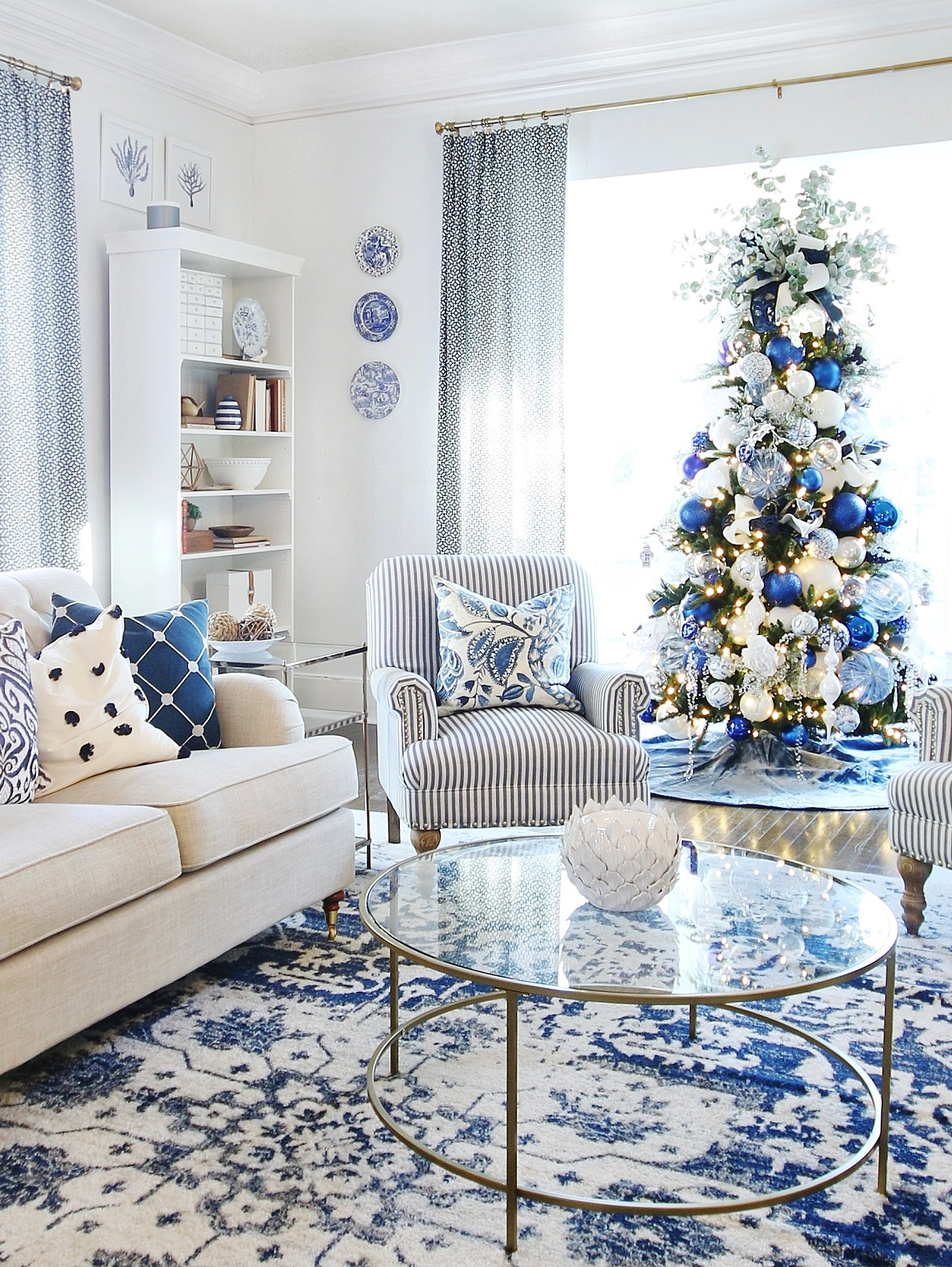 Blue and White Decoration