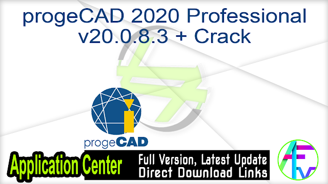 progeCAD 2020 Professional v20.0.8.3 + Crack