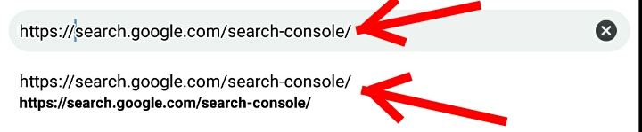 How to check website backlinks using google webmaster tools (Google Search Console) Step 1