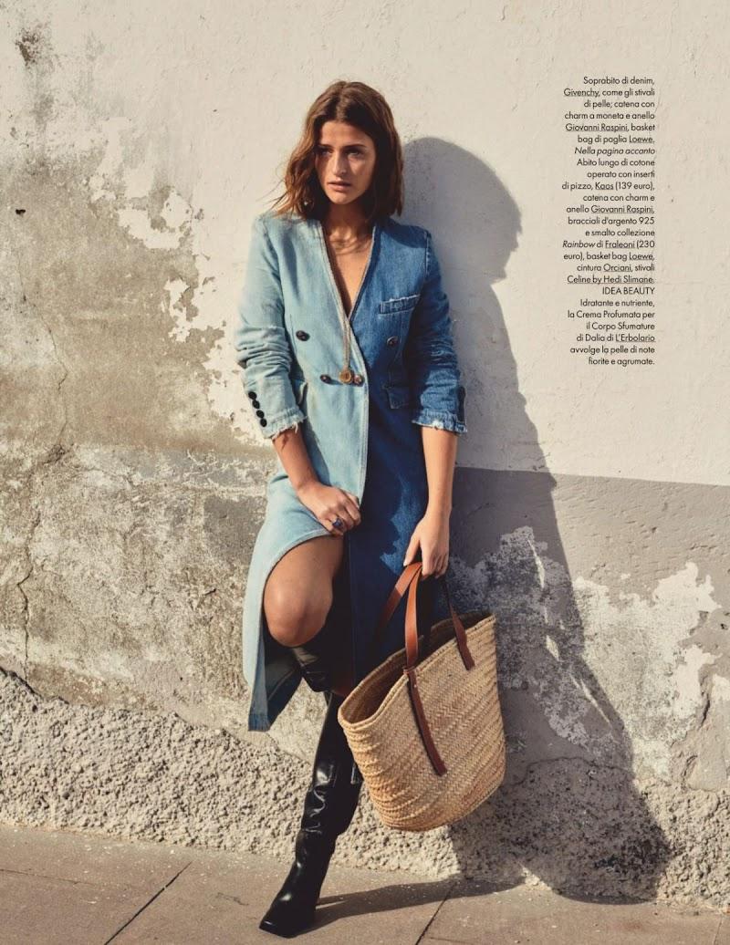 Regitze Christensen Clciked for Elle Magazine - Italy August 2020