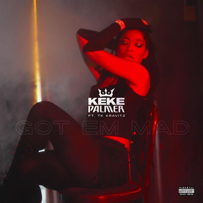 Keke Palmer Featured in – Got Em Mad Single Cover 2020
