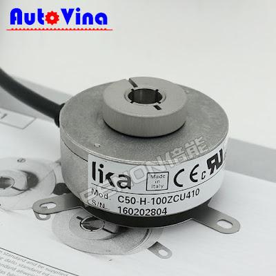 Đại lý bán Encoder Lika C50-H-100ZCU410 tại Việt Nam