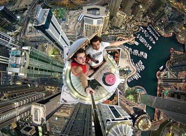 Pessoas que desafiaram a morte para tirar uma selfie