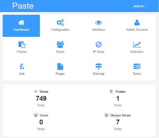 Pastebin clone script opensource