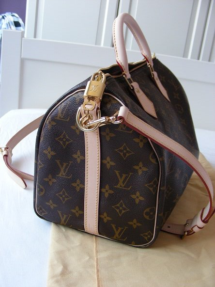 Louis Vuitton Speedy 30 With Strap Confederated Tribes Of The