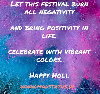 Colorful Holi Greetings, Quotes, Slogans, Whatsapp