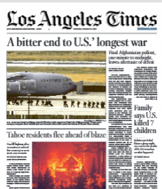 Los Angeles Times Magazine 31 August 2021