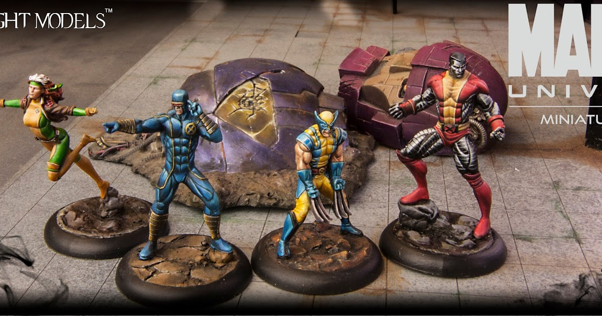 Tales of a Tabletop Skirmisher: Marvel Universe - Factions