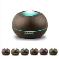 H10 - Wooden Essential Oil Aroma Diffuser Ultrasonic Aroma Humidifier