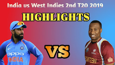 India vs West Indies 2nd T20 2019 highlights, 1st 50 by Shivam Dube