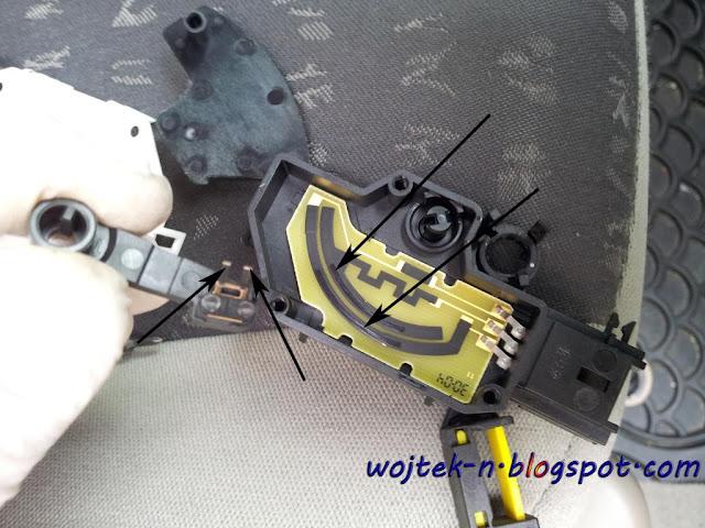 wojtek-n: Clutch/parking sensor problem/error in Renault Grand