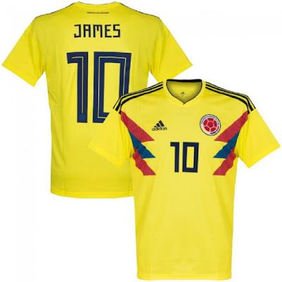 Jersey Kolombia New 2018