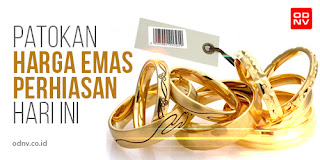 Daftar Harga Emas Antam Dan Perhiasan Emas Hari Ini