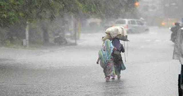 दिल्ली, बिहार और उत्तर प्रदेश में दो दिन तेज बारिश की चेतावनी