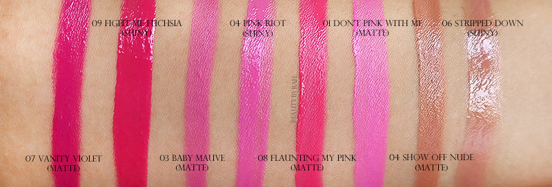 Maybelline Color Jolt Intense Lip Paint Swatches Singapore