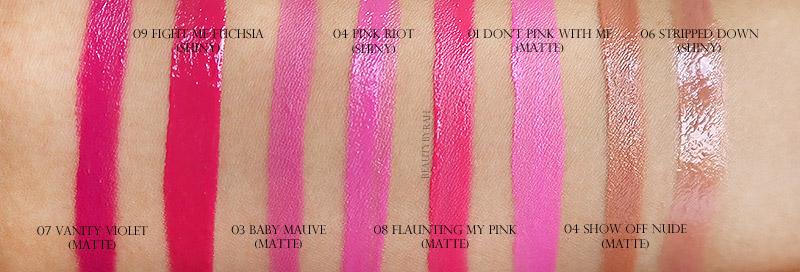 Maybelline Color Jolt Intense Lip Paint Swatches Singapore