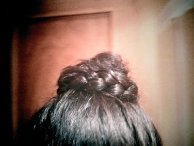 NYE braided bun.