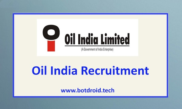 Oil India Recruitment 2021 Apply Online for Oil India Job Vacancies | Latest Oil India Limited Recruitment Notification