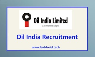 Oil India Limited Recruitment 2021 - Apply for Engineer, Officer and Other Vacancies @ www.oil-india.com