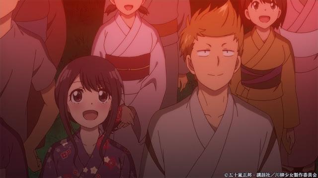 Link Download Senryuu Shoujo Episode 11 Sub Indonesia: Menonton Kembang Api denganmu