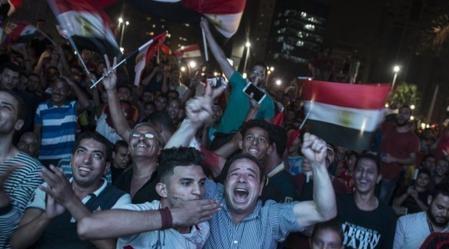 فيديو ... مظاهرات قوية في ميدان التحرير تطالب برحيل السيسي