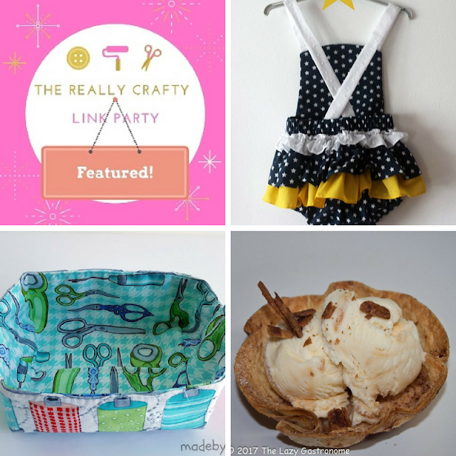 The Really Crafty Link Party #70 featured posts!