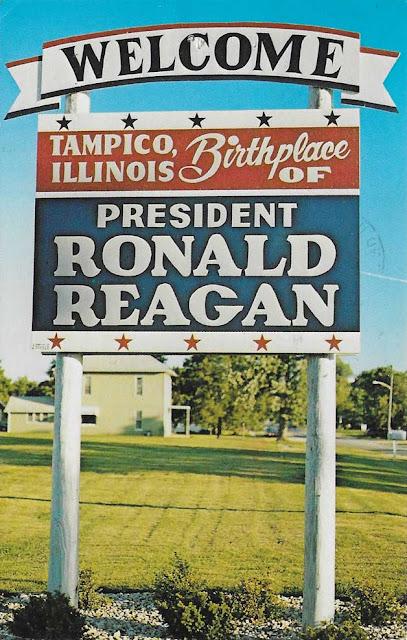 A biography of president ronald reagan born in tampico illinois