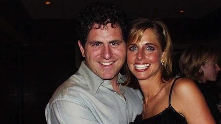Майкл Делл с женой