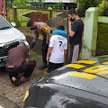 Polisi Himbau Kepada Pengguna Jalan Ruas Bobotsari - Karangreja Agar Hati-hati, Ini Alasannya