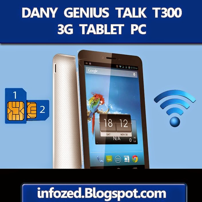 Dany Genius Tablet PC 3G T-300