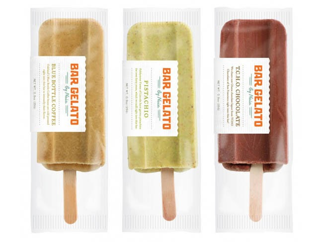 Bar Gelato On Packaging Of The World Creative Package