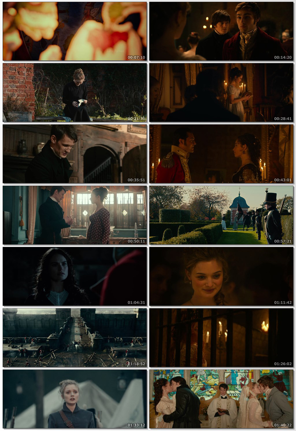 Pride and Prejudice and Zombies 2016 Dual Audio