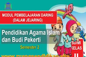 Modul Pembelajaran Daring PAI Dan BP Semester 2 Kelas 2 SD/MI Kurikulum 2013