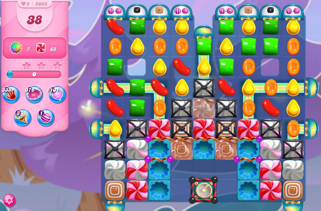 Candy Crush Saga level 9092