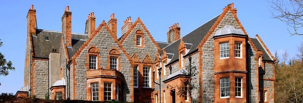 Glencoe House, castello, b&b, Scozia