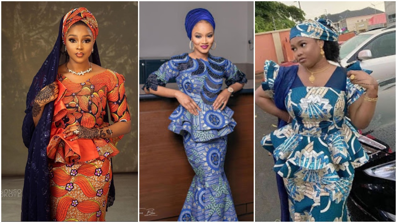 20 Latest Ankara Skirt and Blouse Styles 20 for Ladies