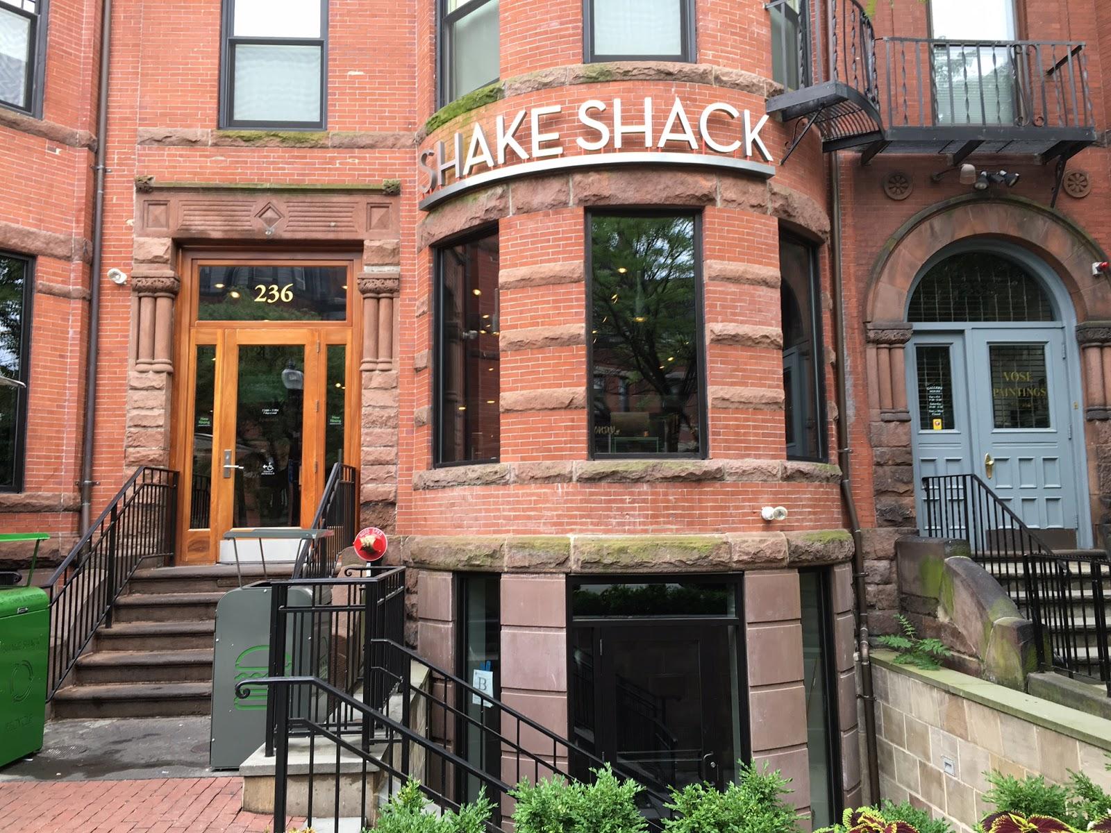 The Pastry Chef's Baking: Boston Bakery Crawl - Shake Shack