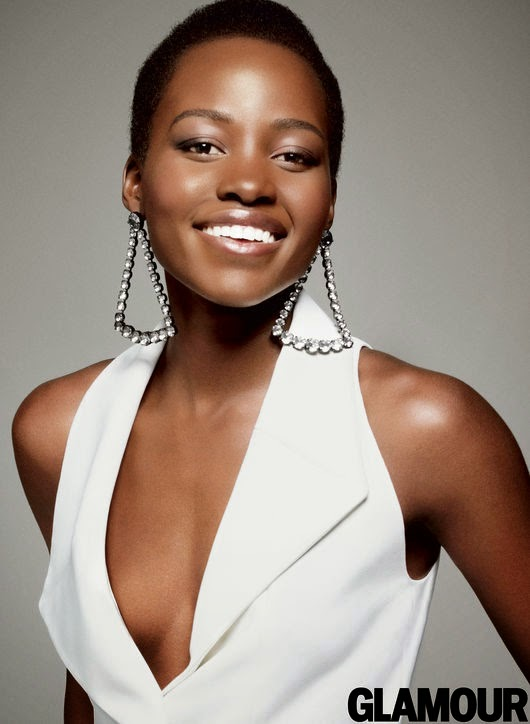 Lupita Nyong'o for Glamour US December 2014