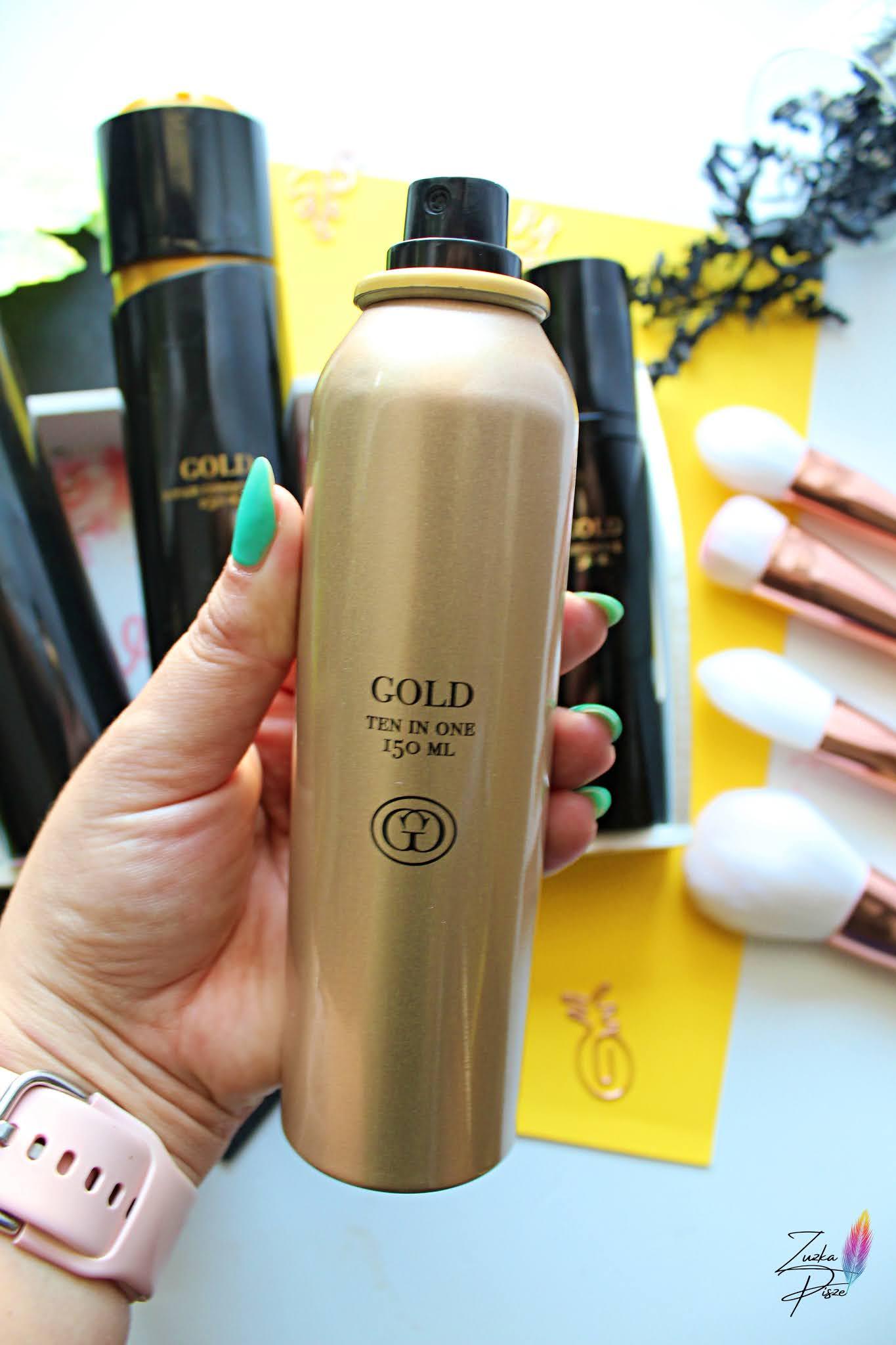 Gold Ten in one 150 ml mgiełka do włosów