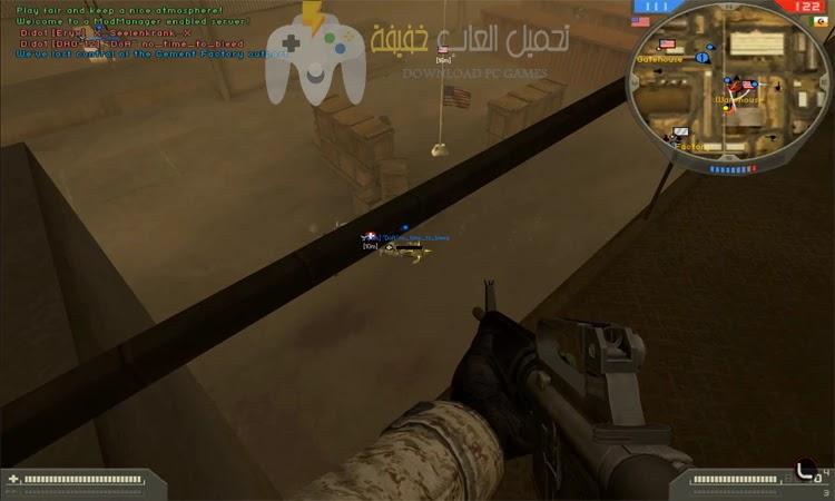 تحميل لعبة Battlefield 2 للكمبيوتر من ميديا فاير