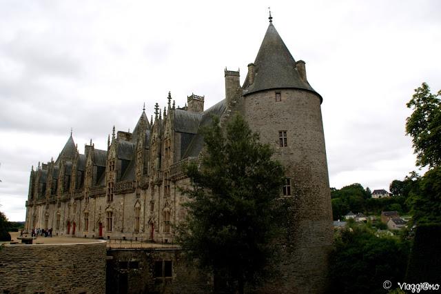 Lo splendido castello bretone di Josselin
